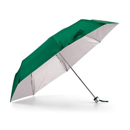 Guarda-Chuva-Dobravel-em-3-Secoes-com-interior-Prateado-na-cor-verde
