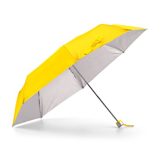 Guarda-Chuva-Dobravel-em-3-Secoes-com-interior-Prateado-na-cor-amaela