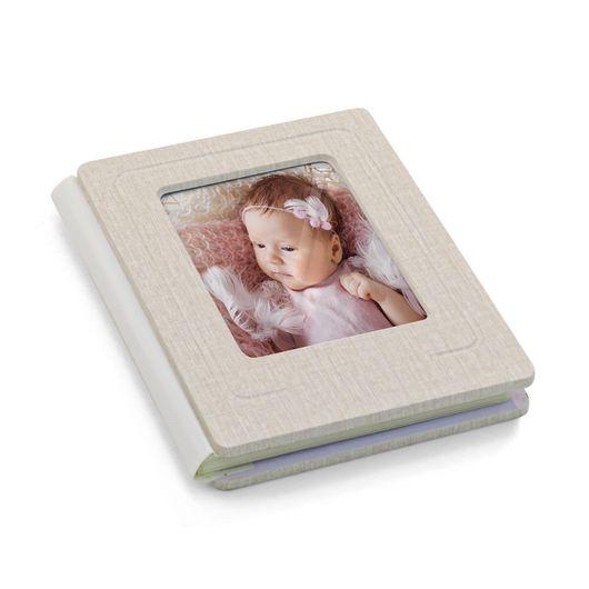 Album-de-Fotografia-Premium-com-Capa-na-Cor-Linho-Bege-15x20cm