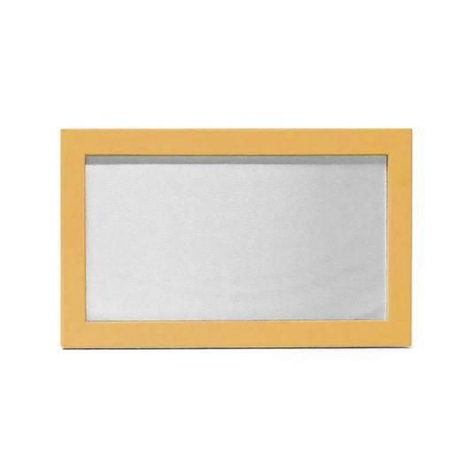Quadro-de-MDF-com-Tecido-Brilho-Formato-10X19-e-Moldura---Dourado