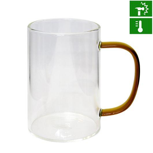 Caneca-de-Vidro-Borossilicato-Cristal-com-Alca-Marrom-300ml