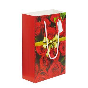 Sacolinha-de-Papelao-Decorada-Tipo-Presente-Rosas-Vermelhas-18x28x75cm