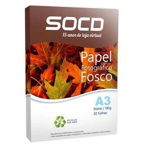Papel-Fotografico-Matte--Fosco--A3-180g---20-Folhas---1-Pacote