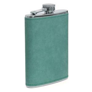 Cantil-de-Aco-Inox-com-Capa-em-Courino-Verde-para-Sublimacao---240ml