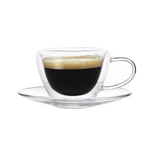Xicara-de-Vidro-Cristal-com-Pires-Double-Wall-Elegance-de-Cafe-para-Sublimacao-90ml-1