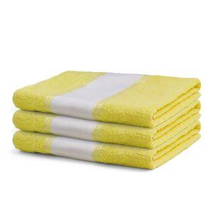 Toalha-de-banho-amarela