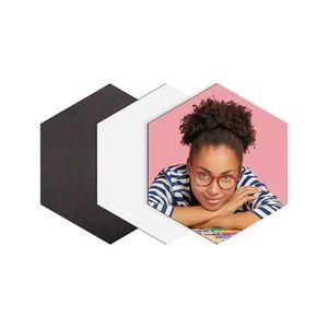 Plaquinha-de-ima-hexagonal